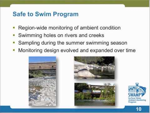 The Central Valley Regional Water Quality Control Board's Safe to Swim Program