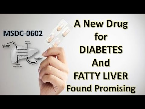 A New Drug to treat Diabetes and Fatty Liver