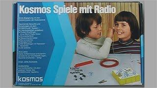 Kosmos Spiele mit Radio Experimentierkasten 70er Jahre