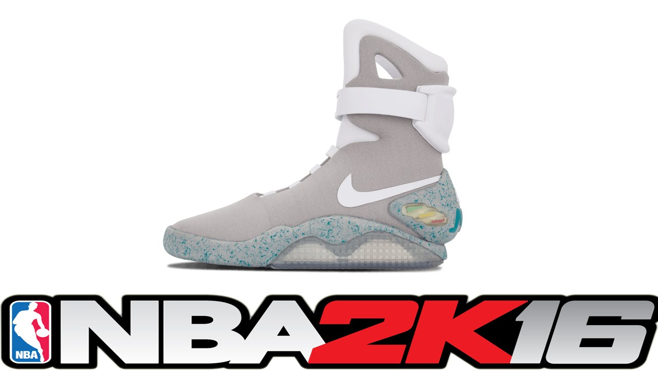 abc1eb47951703 NBA 2K16 Shoe Creator - Nike Air Mags 👟🔌 ⋆ NBA2K16⋆ - YouTube