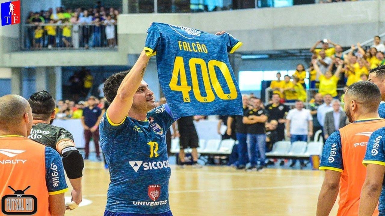 c6f0d77931 DESPEDIDA FALCÃO! Gols Brasil 4x2 Paraguai - Amistoso Internacional de  Futsal 2018 (28 10 2018)