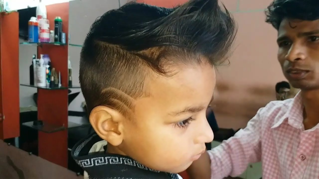 2 Years Baby Lakshya Verma Hair Cutting New Style 2018 Youtube