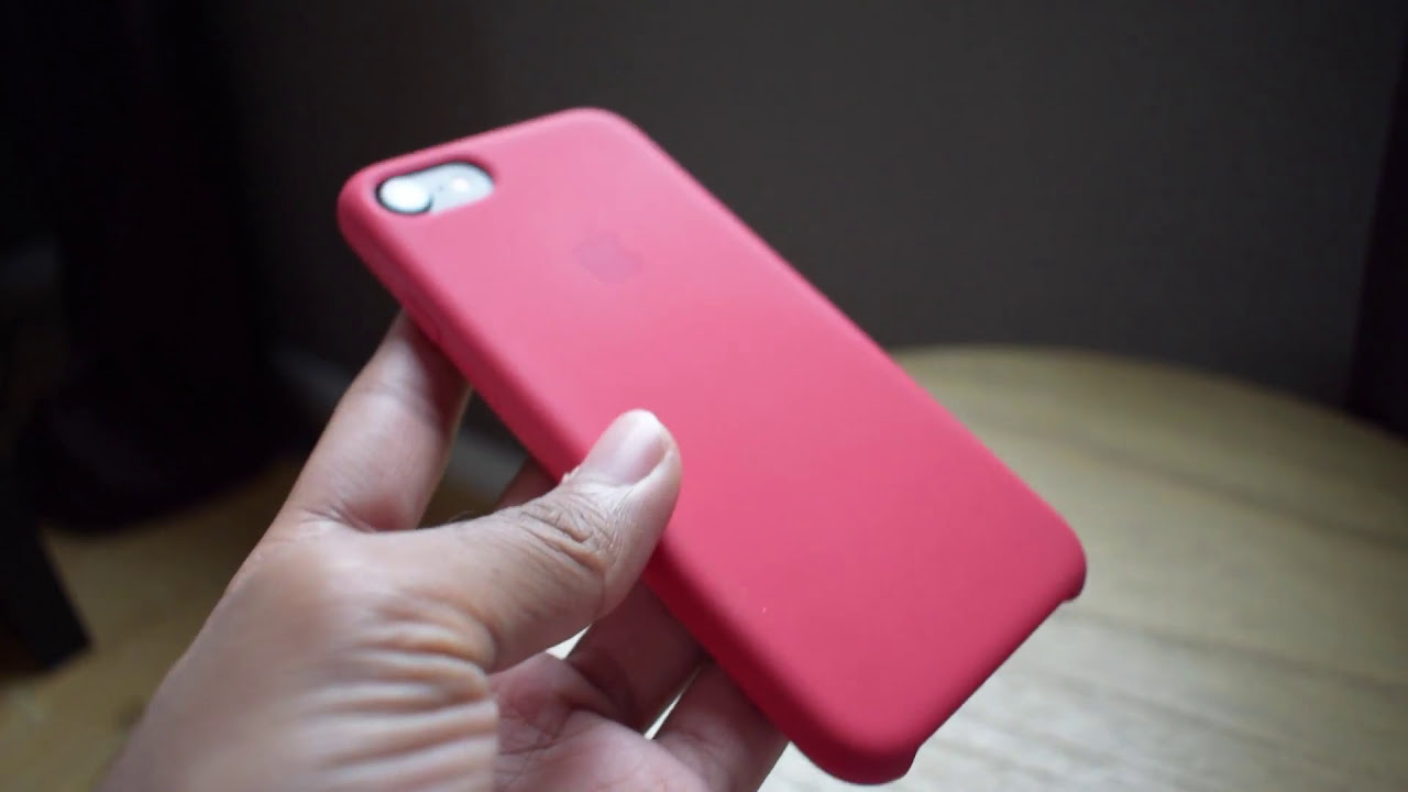 apple red iphone 8 case