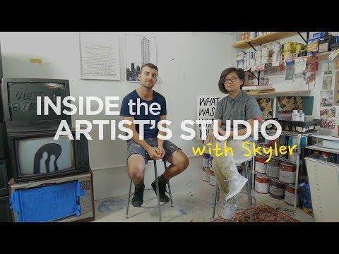 Inside The Artist's Studio: Pat Falco