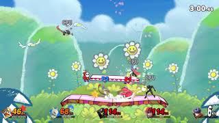 Super Smash Bros Ultimate - The Game - King Dedede vs Mewtwo