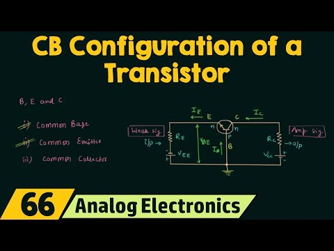 Common-Base Configuration of a Transistor