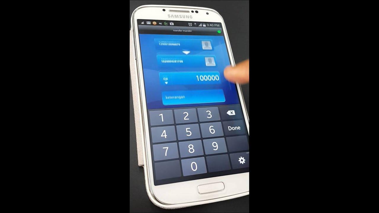 Cara Transfer Antar Rekening Mandiri Via Mandiri Mobile Android