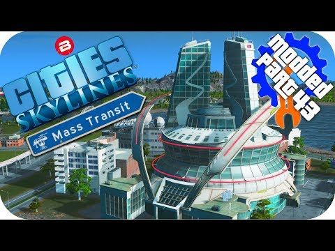 Cities Skylines Gameplay: FREE EDUCATION FOR ALL \o/ Cities: Skylines Mods MASS TRANSIT DLC #43