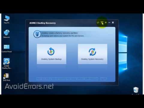 how to create recovery usb windows 10 lenovo