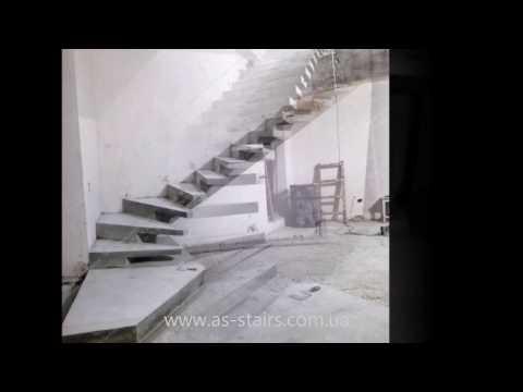 Изготовление лестницы на боковом косоуре