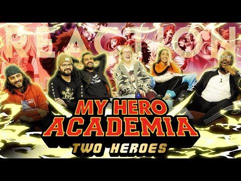 My Hero Academia - Two Heroes Movie - Group Reaction