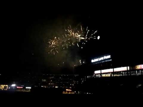 Marvel and DC themed Fireworks Display at Globe Life Park