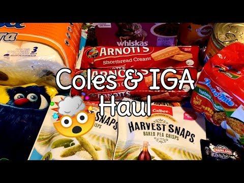 Coles & IGA Haul | Shopping Amongst The Mayhem