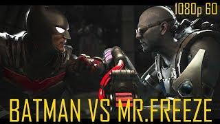 """Injustice 2 """"Batman VS Mr.Freeze"""" (60 FPS)"""