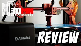 The $299 Alfawise U20 Large Format 3D Printer Review