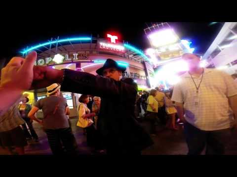 How to Street Hypnosis - Las Vegas - Part 1 - Using GoPro -