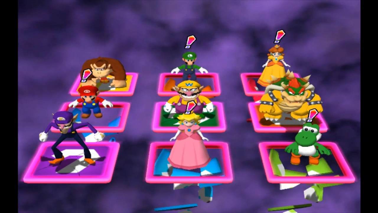 Mario Party 4 - Panel Panic #1 ~LATE 30 SUB SPECIAL~
