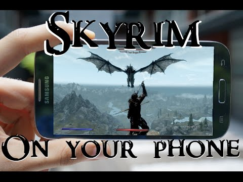 How To: Play Skyrim On Your Android Device!