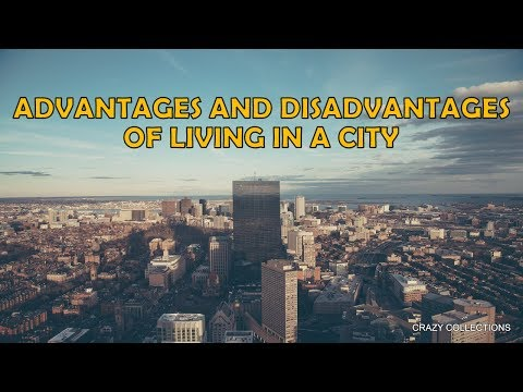 Advantages And Disadvantages Of Living In A City