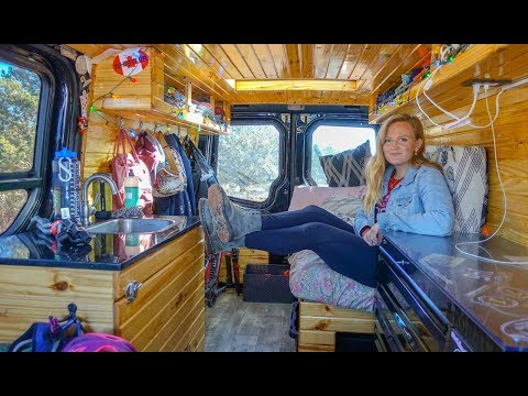 Vanlife Tour   This Gorgeous DIY Van Conversion Costs Less Than You Think