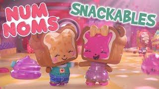 Num Nom   Yummy P. B. del Día san Valentín   Snackables de dibujos animados Webisode   Temporada 4 Episodio 1