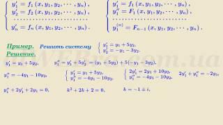 """Видеоурок """"Системы дифференциальных уравнений"""""""