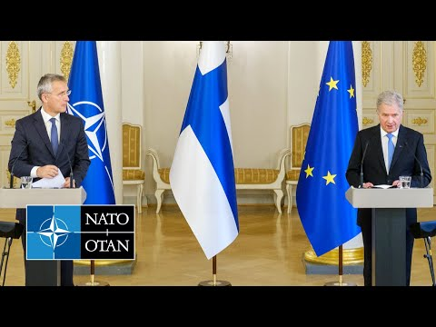 NATO Secretary General and the President of Finland, 25 OCT 2021