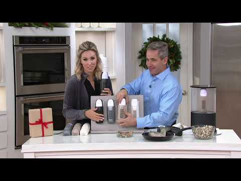 Air Innovations Plug-In Air Cleaner w/ Night Light & USB Ports on QVC