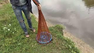 22 06 2021 Первая рыбалка на кастинговую сеть НАКИДКА