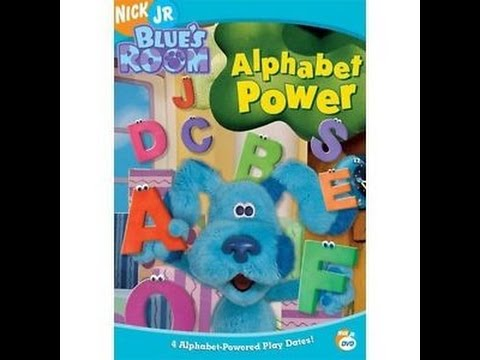 Opening To Blue S Room Alphabet Power 2005 Dvd Youtube