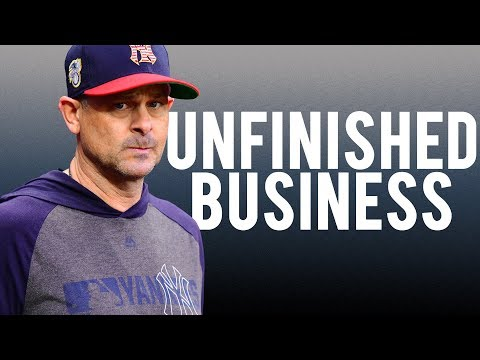 AARON BOONE: Unfinished Business | New York Yankees