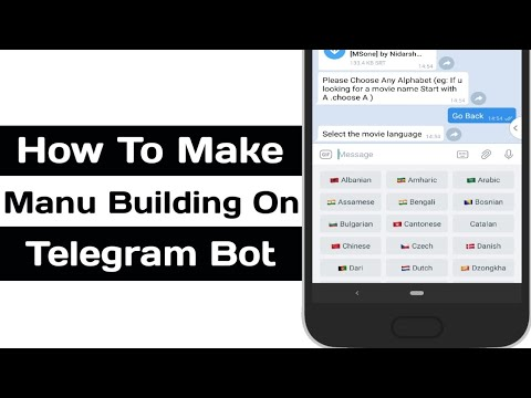 How To Create Bot In Telegram Without Programming Using Bot Constructor Menu Builder Bot, Button Bot