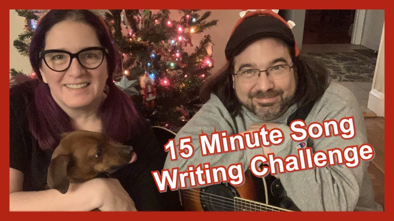 15 minute song writing challenge  christmas edition  youtube