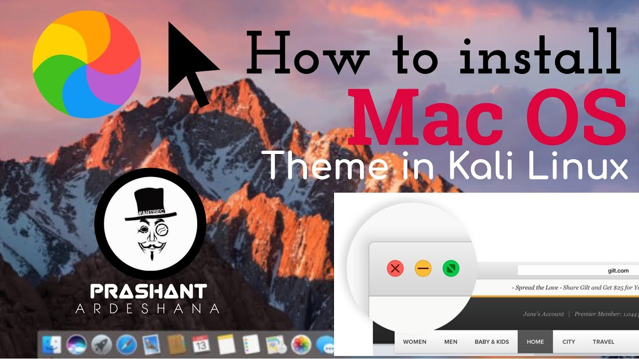 First you will need to find a theme with the buttons you want and install that theme. 100 Working How To Install Mac Os Theme In Kali Linux Youtube