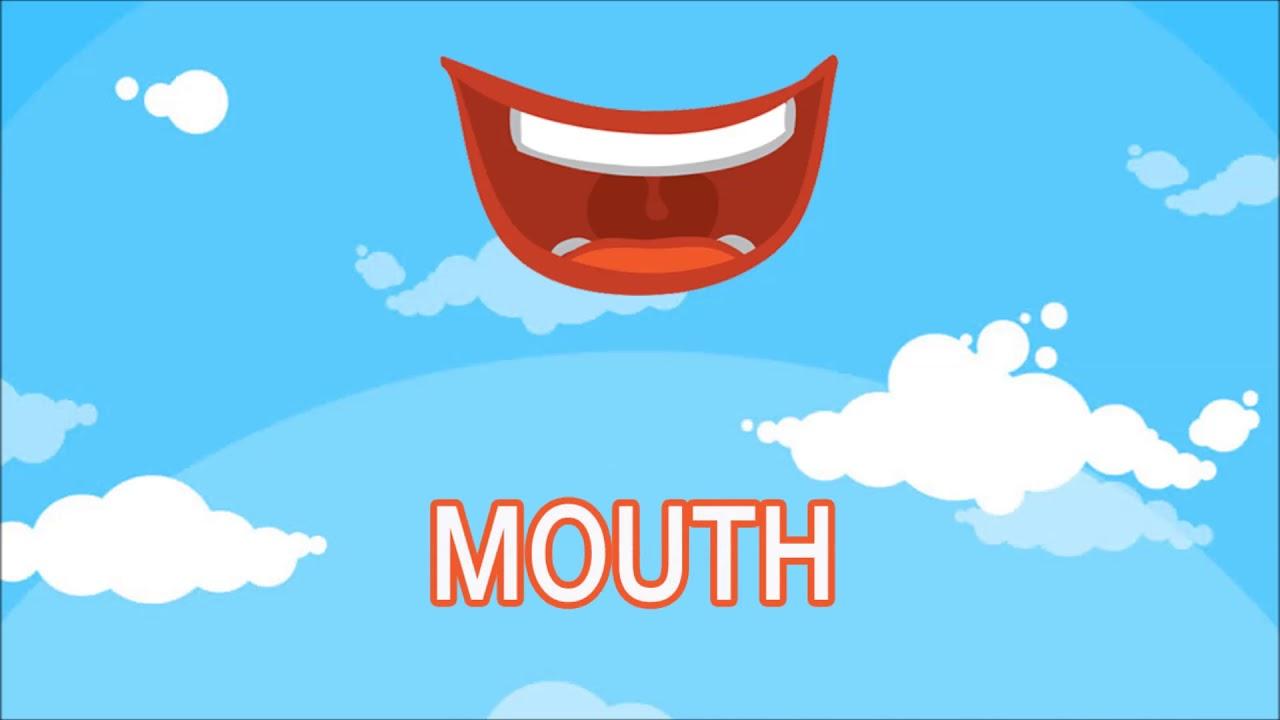 كيف أقول الفم بالل غة الإنجليزي