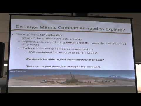 The Role Of Exploration In A Large Mining Company
