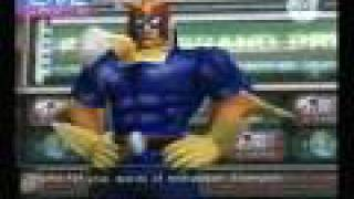 Captain Falcon and Blood Falcon TV Interviews (Better Quality)
