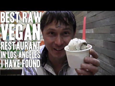 Best Raw Vegan Restaurant in Los Angeles I Have Found