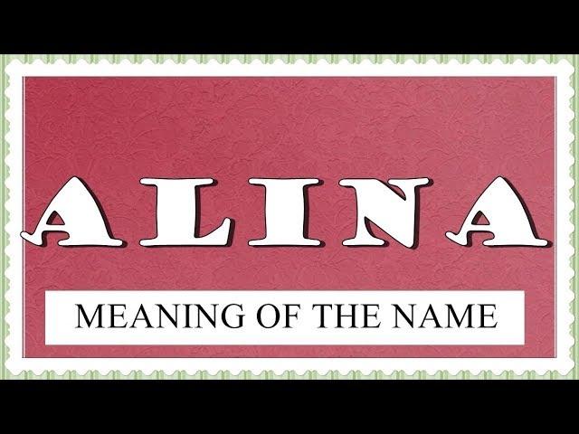 22++ Alina name ideas in 2021