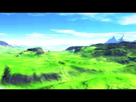Watch 3D Spring Planet Green  Animation by Landi