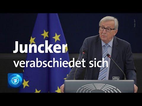 EU-Kommissionspräsident Juncker zieht Bilanz seiner Amtszeit