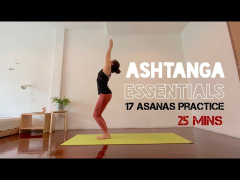 Ashtanga yoga essentials อัชทางก้าแบบย่อ 25 นาที 17 ท่า ลองมาฝึกกันสิ : Beauyogarabbit