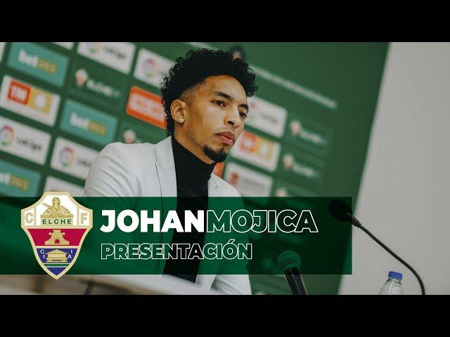 Elche CF Oficial - Presentación de Johan Mojica - 18-01-2021