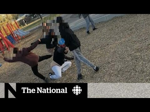 CBC News: The National: Playground attack video sees 13-year-old charged