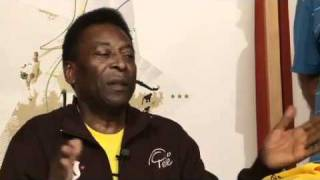 Pele Interview in New York