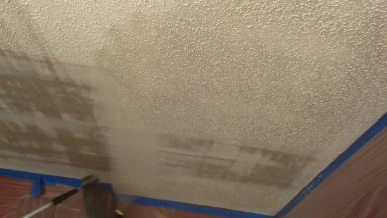 como quitar el tirol del techo como quitar la textura del