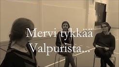 #haamukoulu Mervi Heikkilän kouluvierailu