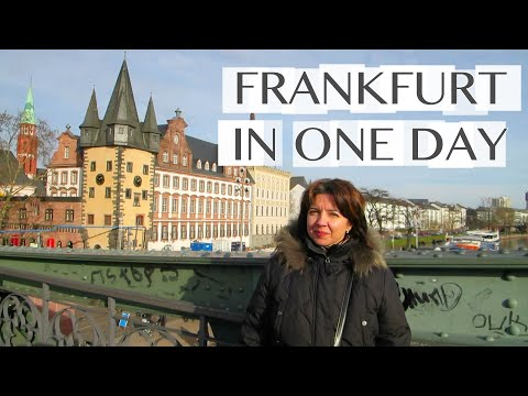 Frankfurt In ONE Day!