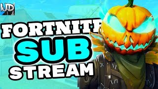 FORTNITE PS4 LIVE ROAD TO 2K SUBS NEW HOLLOWHEAD SKIN - FORTNITE MONDAY