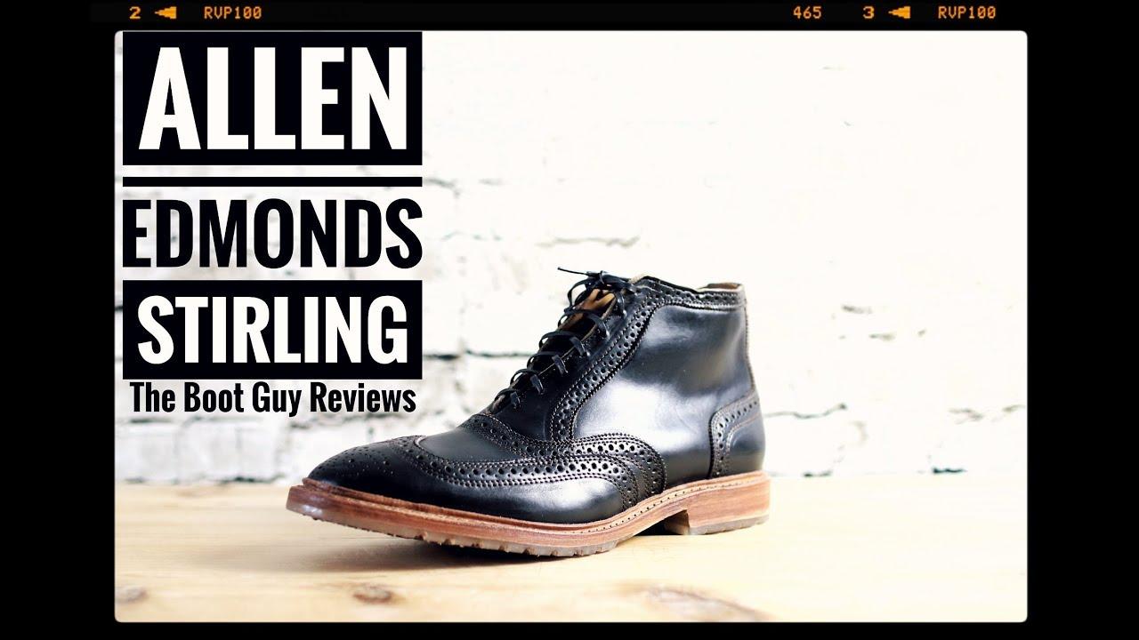 Allen Edmonds Shoe Corporation   STIRLING BOOT     The Boot Guy Reviews   35b4308c84a